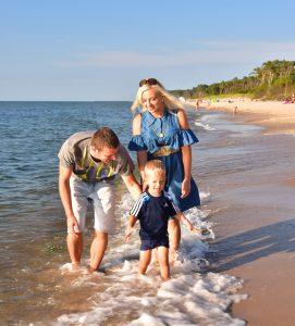 Weekend z dzieckiem nad morzem